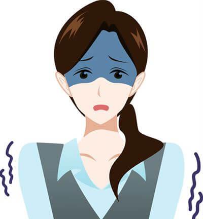 職場の人間関係に恐怖を覚える女性